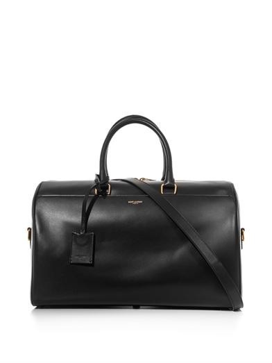Classic Duffle 12 leather bag