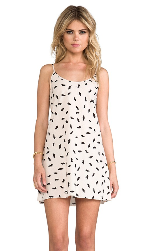 Allover Lips Dress