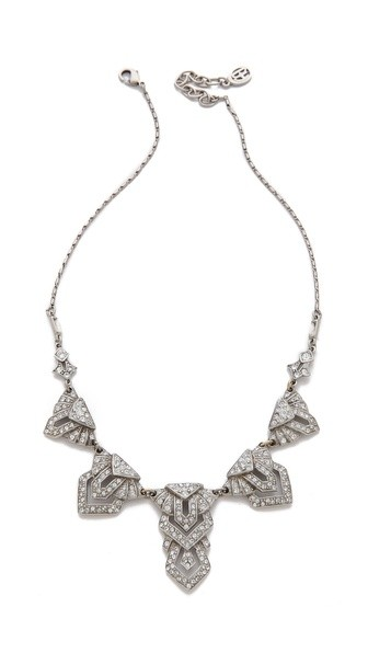 Deco Crystal Necklace