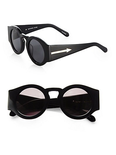 Blue Moon Round Sunglasses