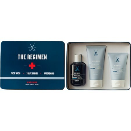 The Regimen Facial Cleanser, Shave Cream and Aftershave
