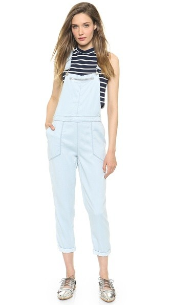 Overalls with Mesh