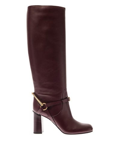 Tess horsebit leather boots