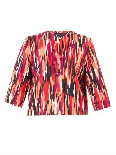 Vanni Pollock-print jacket