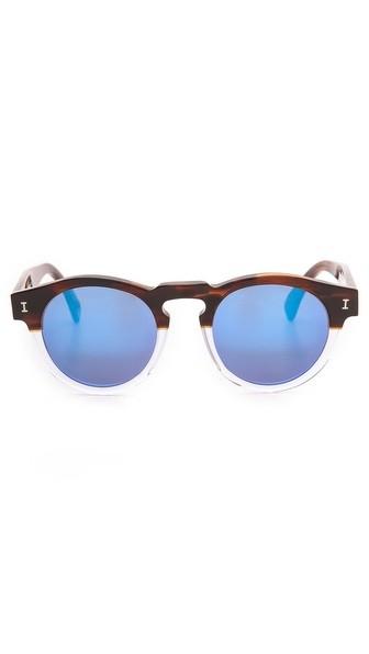 Leonard Half/Half Sunglasses