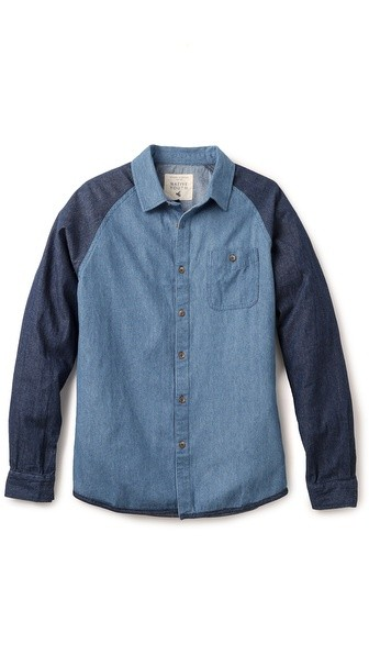 Denim Raglan Shirt