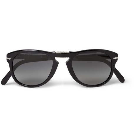 Steve McQueen Folding Acetate Sunglasses