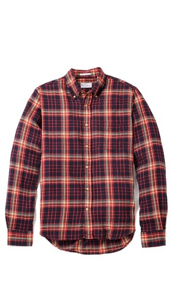 Windblown Flannel Shirt