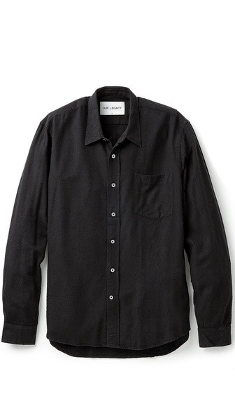 Raw Silk Classic Shirt