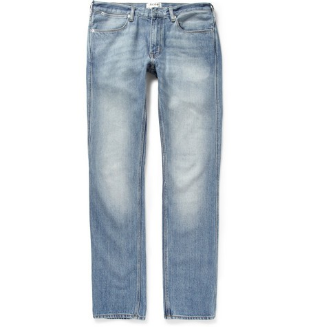 Max LT Vintage Washed-Denim Jeans