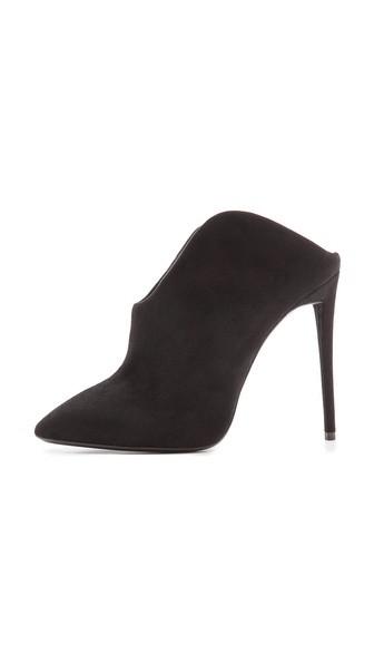 Olinda Cutaway Heel Mules