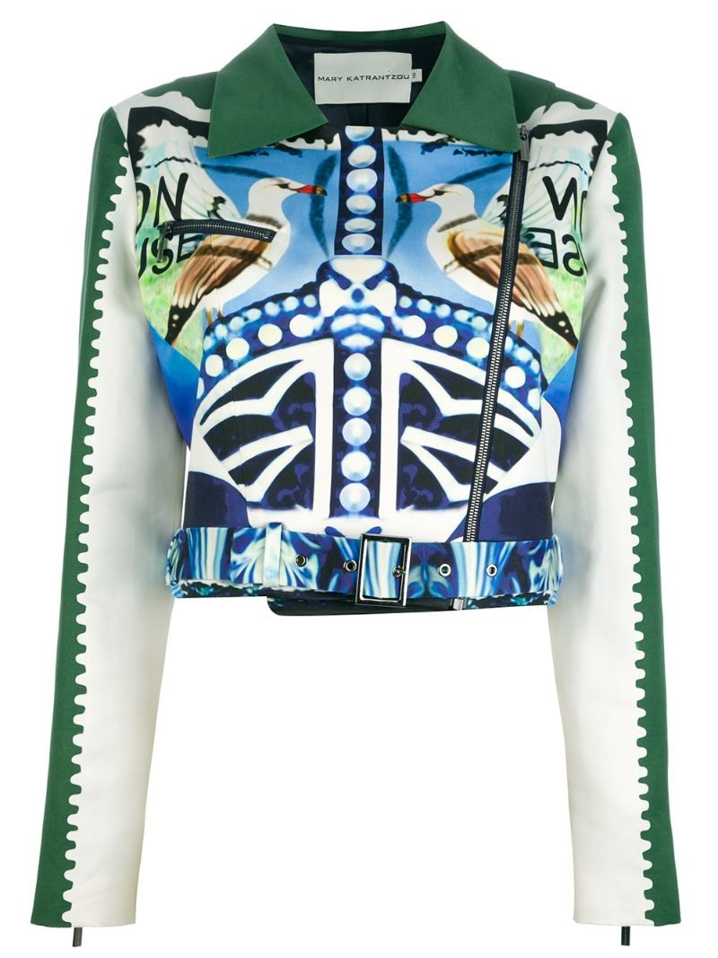 MARY KATRANTZOU 'Star Sailor' biker jacket