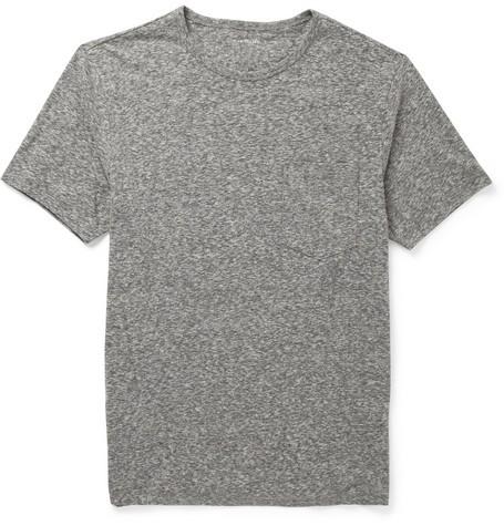 Marled Cotton-Blend T-Shirt