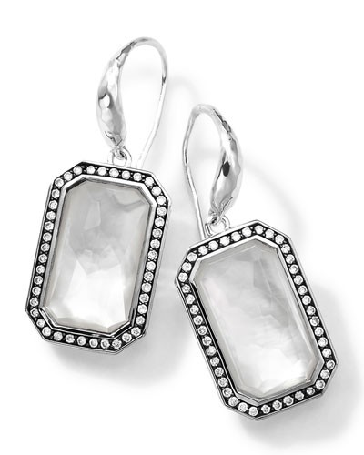 Ippolita          Sterling Silver Stella White Earrings with Diamonds