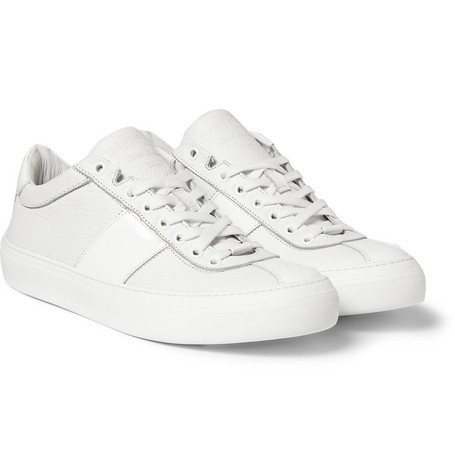 Portman Full-Grain and Patent-Leather Sneakers