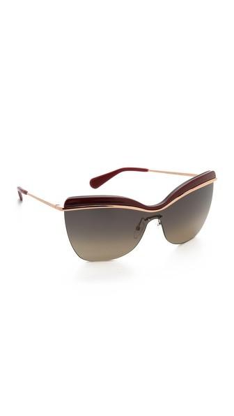 Rimless Sunglasses