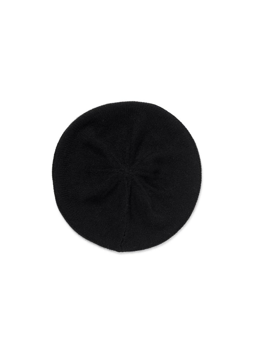 Cashere knit beret