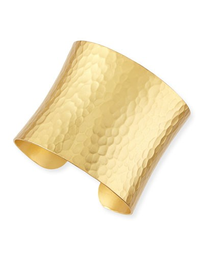 Stephanie Kantis 				 			 		 		 	 	   				 				24k Gold-Dipped Grecian Hammered Cuff