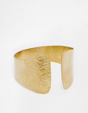 Made Shipangalia Gold Cuff Bracelet