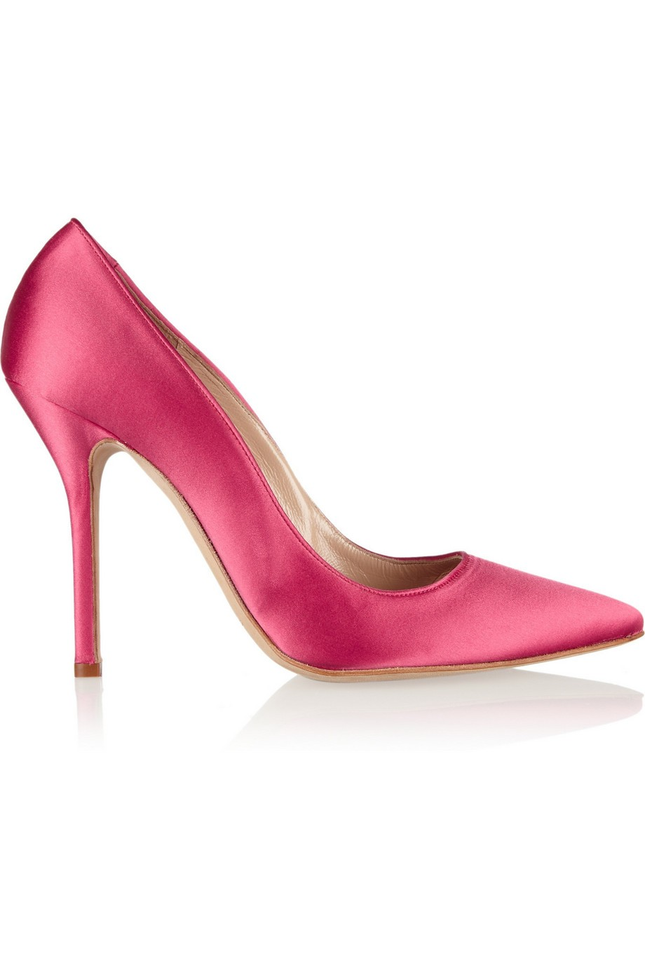 Grace satin pumps