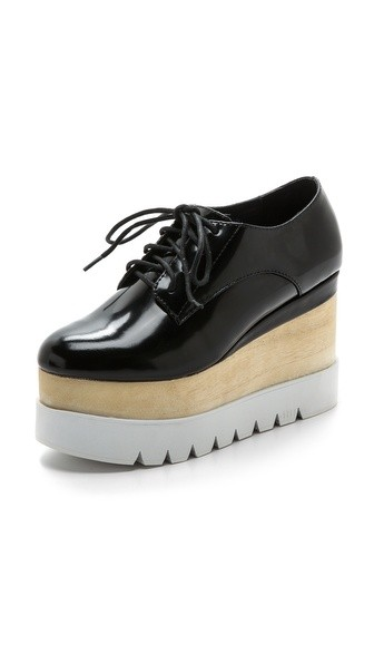 Berliner Platform Oxfords