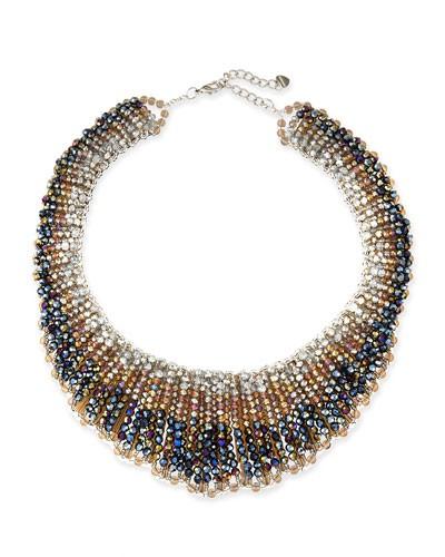 Nakamol          Czech Crystal Statement Necklace