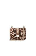 Cavallino Small Lock Flap Bag in Leopard