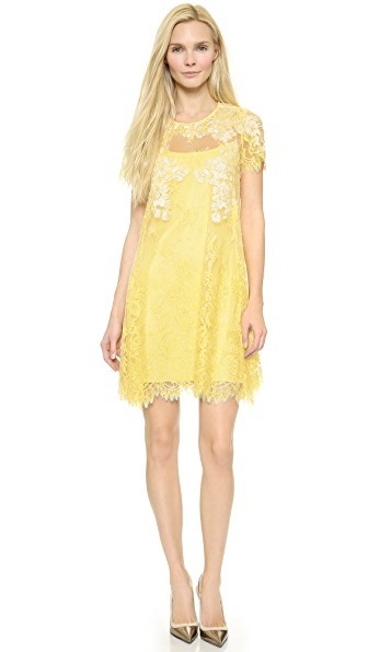 Lace Trapeze Dress