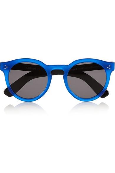 Leonard 2 round-frame acetate sunglasses