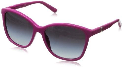 D&G Dolce & Gabbana Womens Iconic Logo Square Sunglasses,Fuchsia,57 mm