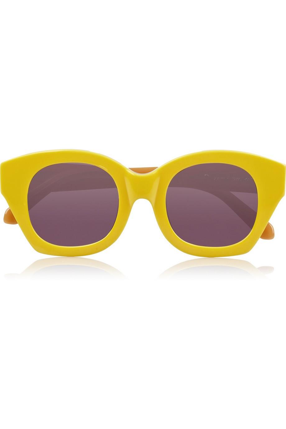 Soul Club cat eye acetate sunglasses