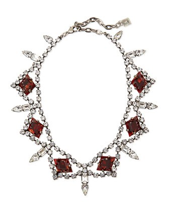 Devi Crystal Statement Necklace
