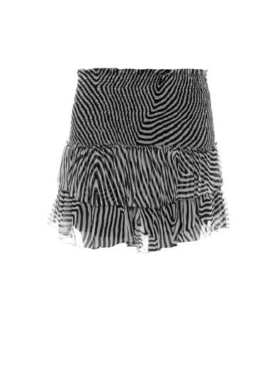 Derek printed mini skirt