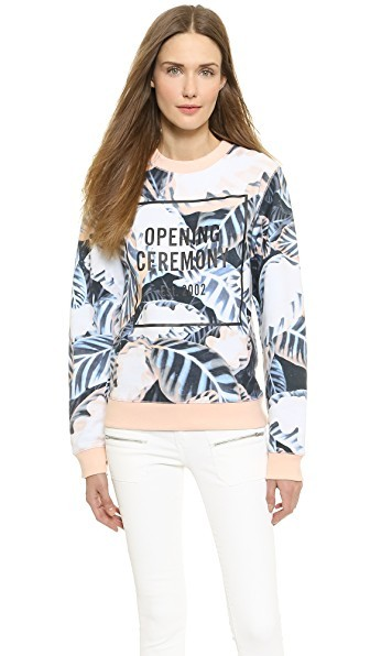 Painted Leaves OC Sweatshirt