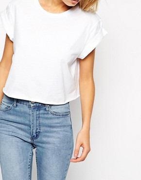 ASOS The Easy Cropped T-Shirt