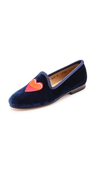 #PuppyLove Embroidered Loafers