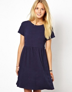 ASOS Quilted Smock Dress