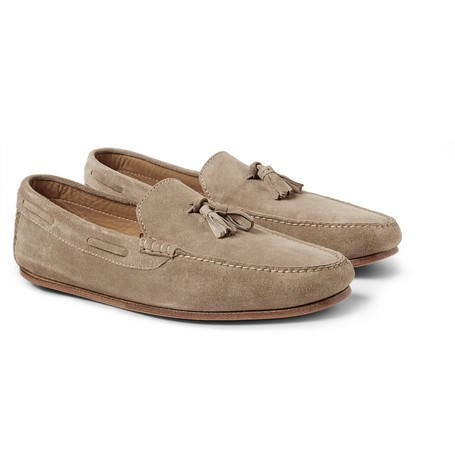 Roadster Walk Tasselled Suede Loafers