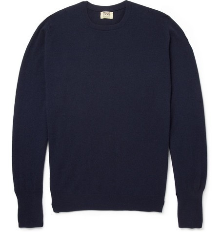 Oxton Cashmere Crew Neck Sweater