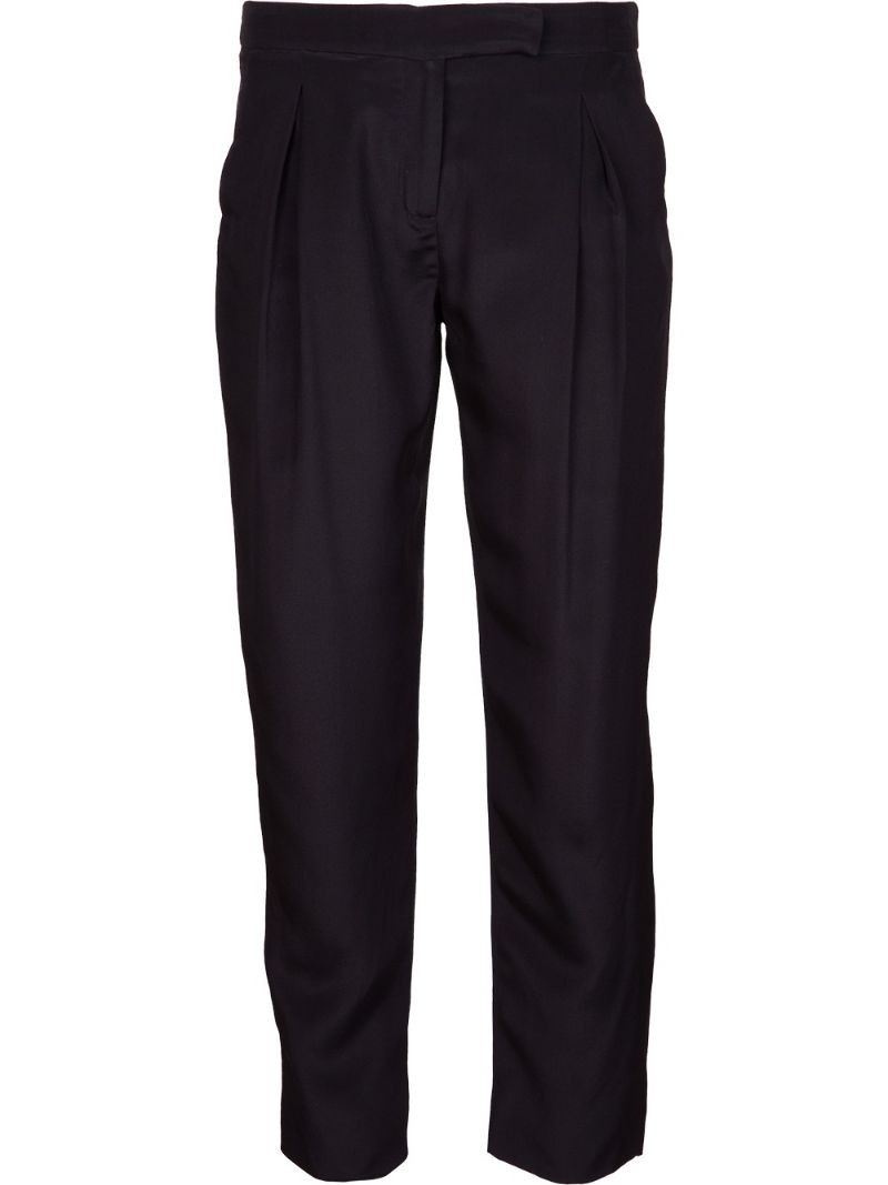 HOLMES & YANG pleated trouser