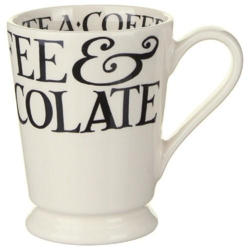 Bridgewater Pottery Black Toast Cocoa Mug