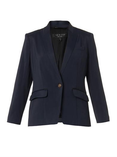 Smith single-breasted blazer