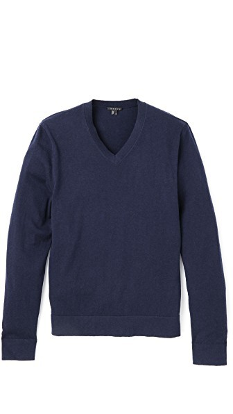 Leiman V Neck Sweater