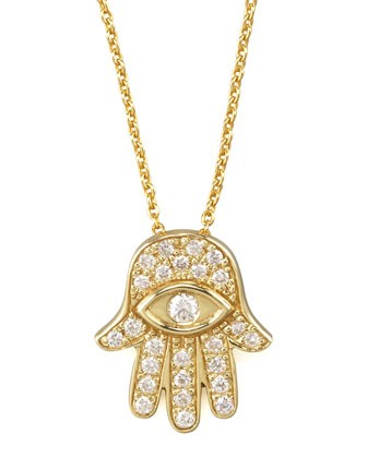 Gold Hamsa Pendant Necklace - Roberto Coin