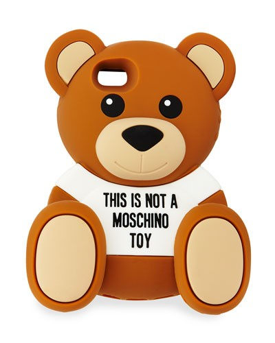 Moschino 				 			 		 		 	 	   				 				Teddy Bear Cam iPhone 5 Case