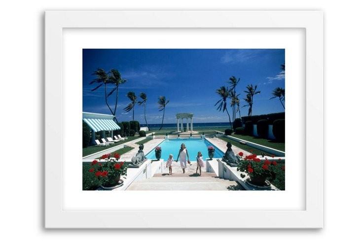 Slim Aarons, In Palm Beach, Mini