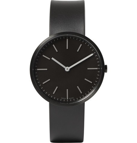 M37 PVD Black Stainless Steel and Rubber Wristwatch