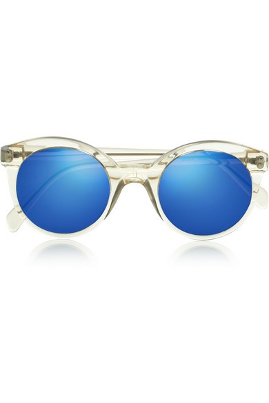 White Chapel cat eye acetate sunglasses