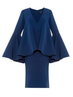 Polar bell-sleeved dress
