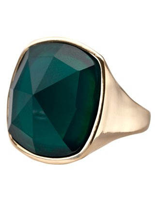 Sleek Stone Ring